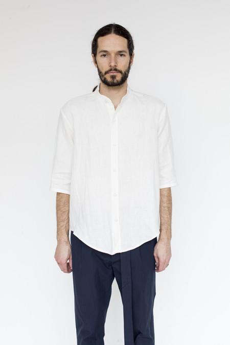 Assembly New York Linen Non-collar Shirt