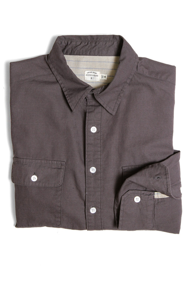 Men's Bridge & Burn Smithe Grey Shirt