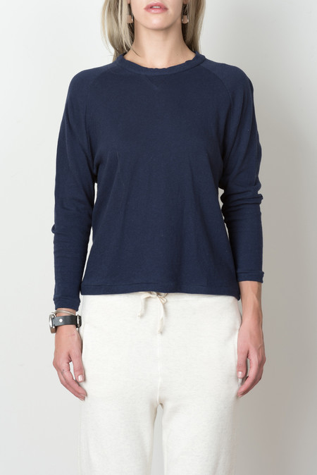 Hansel from Basel Balmoral Sweatshirt In Navy