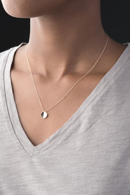 Kristen Elspeth Basin Necklace In 14K Gold