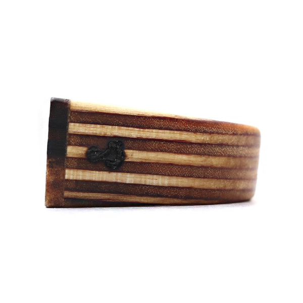 Sticks & Stones Black Palm Ring