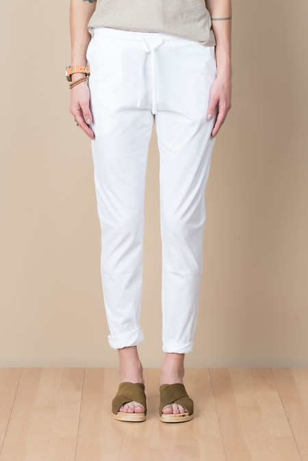 Kowtow Building Block Slim Pant In White