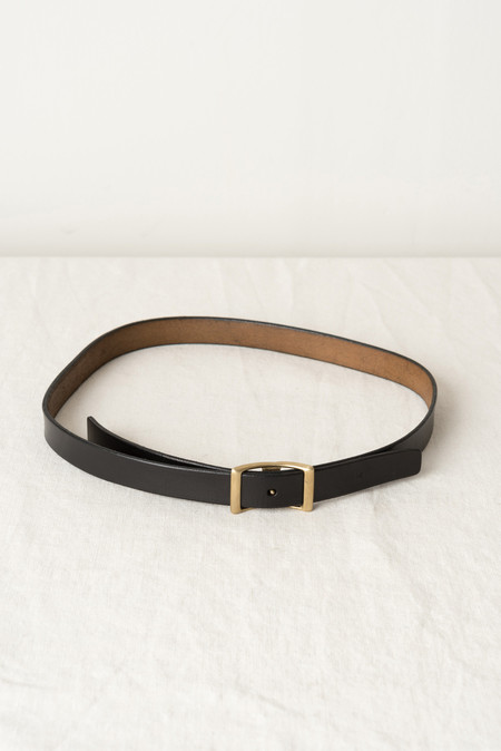 "KikaNY Conway Buckle Belt - 1"" wide In Black"