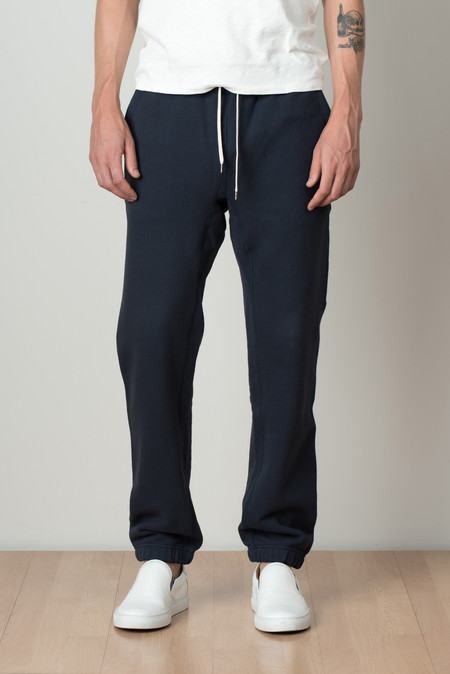 Still By Hand Sweat Pants In Navy