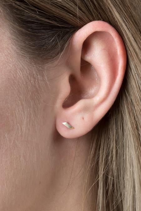 Still House Tiva Stud Earring In 14K Gold