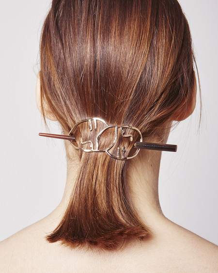 Open House Amistad Hair Clip in bronze
