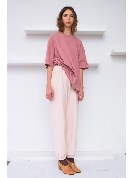 Audrey Louise Reynolds Organic Cotton Sweatpants, Pink