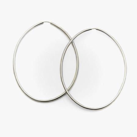 Fay Andrada Ovaali Hoop Earrings (Pair)