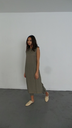 ILANA KOHN KATE MAXI - BLACK CHECKERS