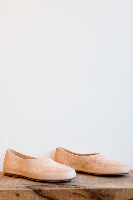 FEIT Hand Sewn Ballet Flat in Natural