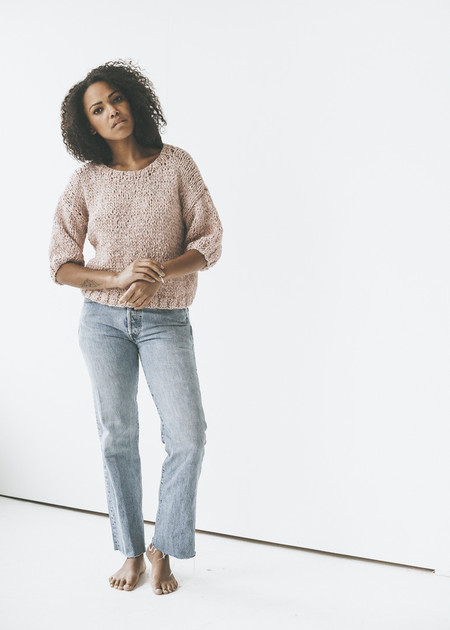Line Knitwear - Danica in Macaroon