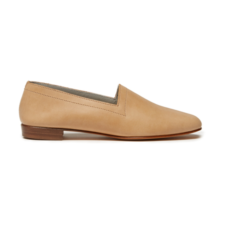 Ops&Ops No10 Latte Leather Flats