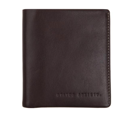 Status Anxiety Merv Wallet Chocolate