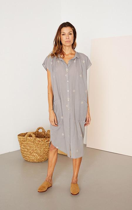 Two New York Gray handwoven pocket khadi dress