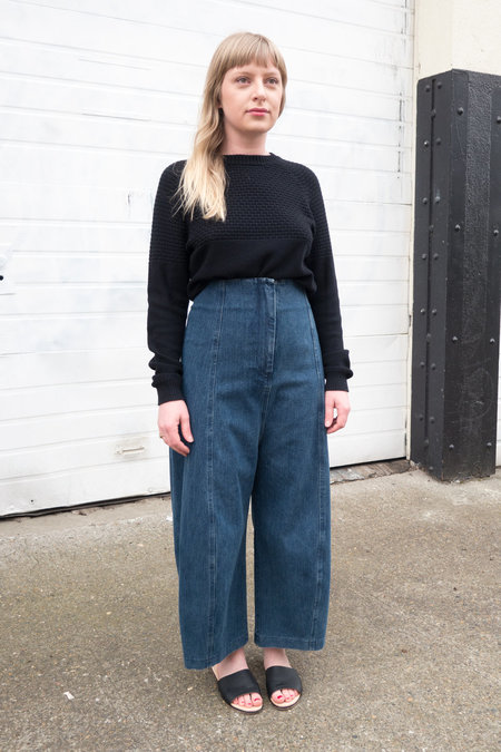 Caron Callahan Morris Pant in Denim