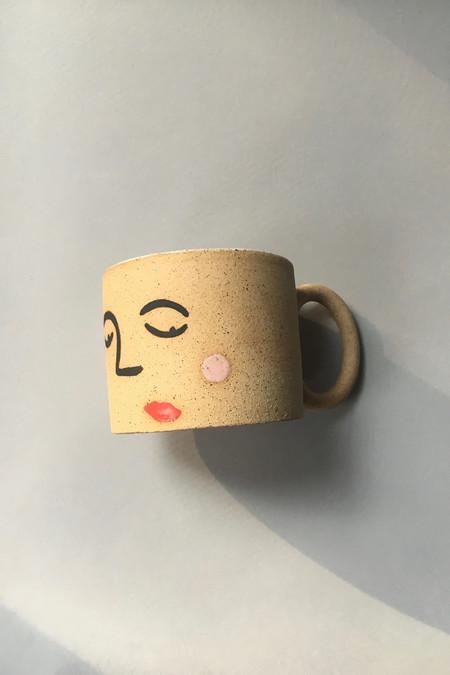 Jed Ceramics Face Mug