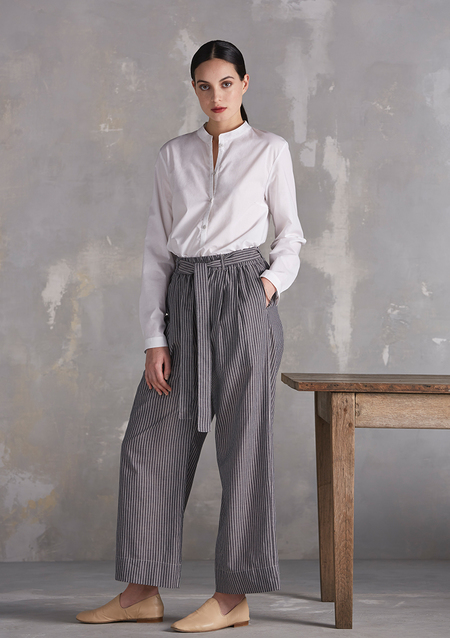 Kowtow Bay Wide Leg Pant, chambray