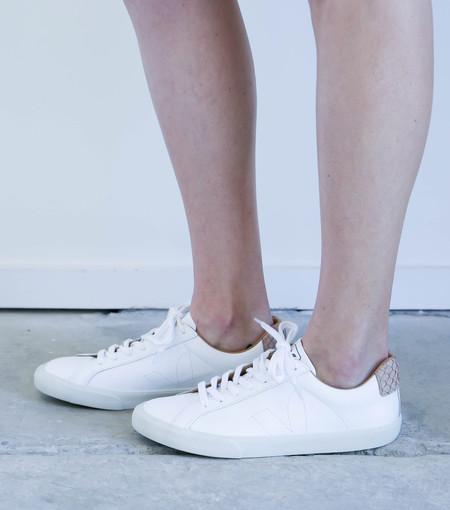 Veja Bastille Esplar Sneakers in White