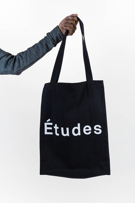 Etudes October Black Tote Bag