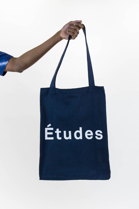 Etudes October Navy Tote Bag