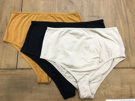 The Nude Label-High Waisted Brief