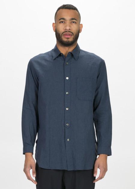 Sage de Cret Lightweight Cotton Button Up Shirt