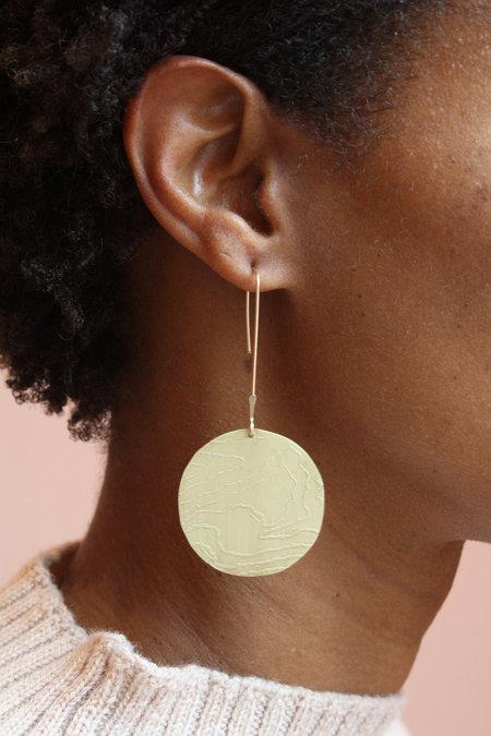 Bri Bol Topographic Relief Earrings