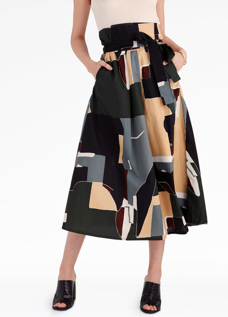 Kowtow Crossover Skirt