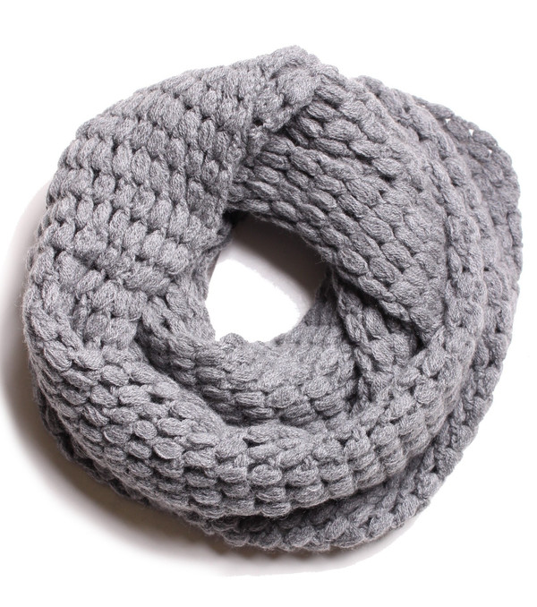 Quinn Effervescent Snood in Granite