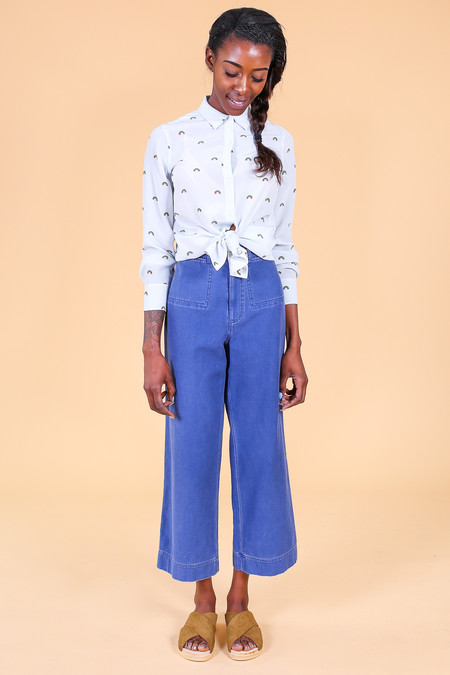 Steven Alan Monroe Pant in Blue