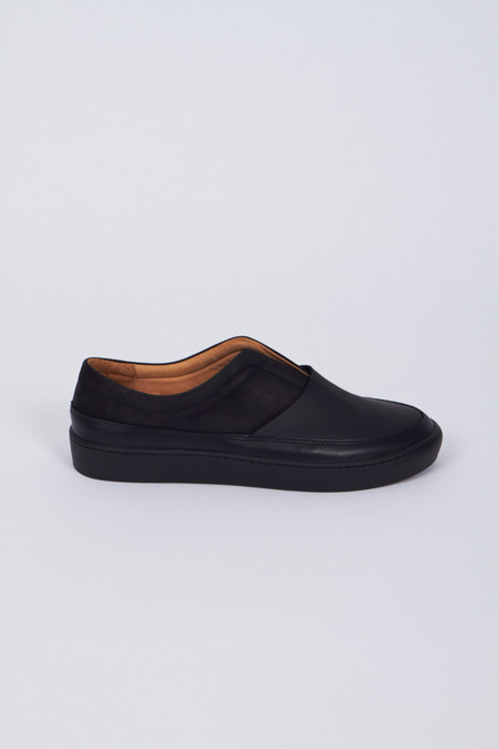 Reality Studio Leather Boa Slip-On Shoe