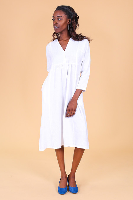 Svilu Imogen Dress in White