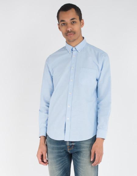 Portuguese Flannel Belavista Shirt Light Blue