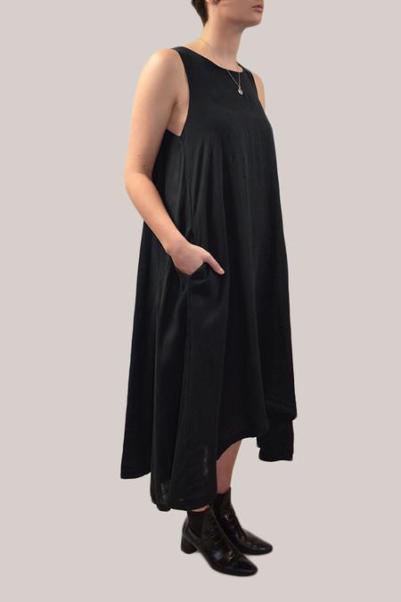 Black Crane Tank Dress | Black