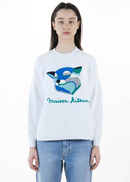 Maison Kitsune Ines Longvial Fox Sweatshirt