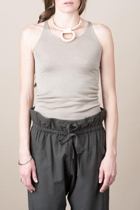 Evam Eva Silk Cashmere Camisole In Mocha