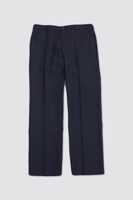 Très Bien Classic Trousers Dark Blue