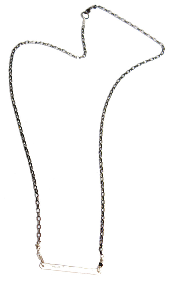 Sarah Dunn Thick Bar Necklace