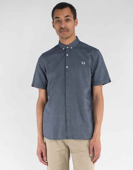 Fred Perry Classic Oxford Shirt Dark Carbon