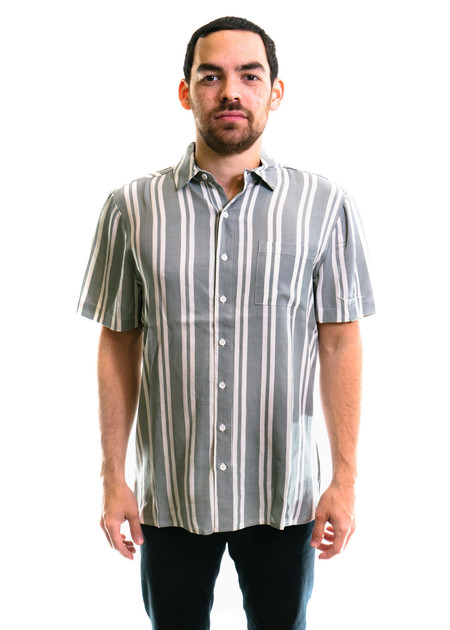 Native Youth Tunstall Shirt - Grey