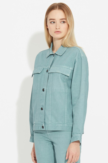 Waven Karin Denim Jacket- Green