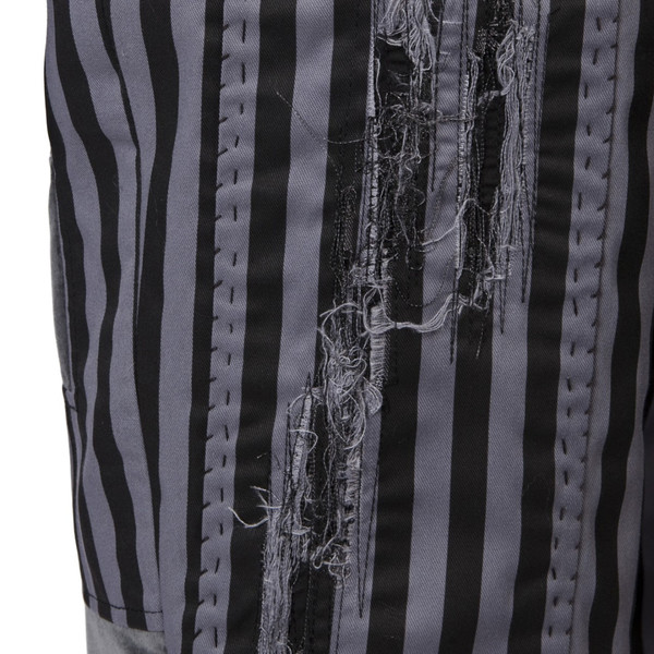 Men's A Child of the Jago Drain Pipes City Stripe Patch Trousers