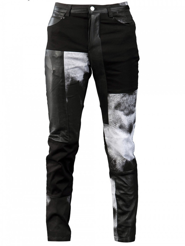 MEN'S HORACE PATCHWORKED JEANS