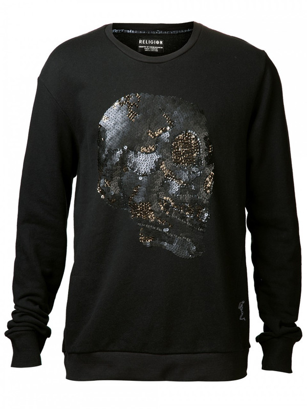 MEN'S RELIGION BLING SWEATSHIRT