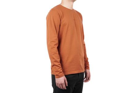 Norse Projects JAMES DRY COTTON LS - PURE UMBER