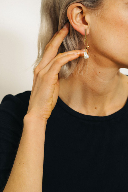 Wolf Circus Calder Earrings In Gold