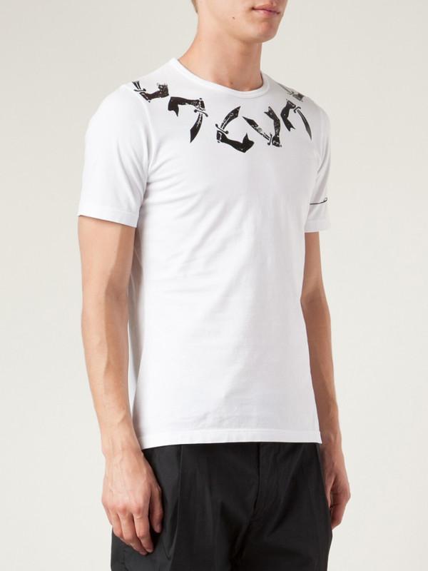 Vivienne Westwood Arm and Cutlass T-Shirt