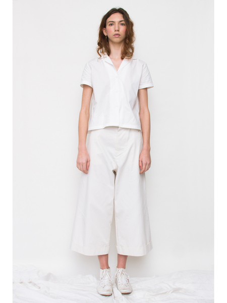 Melitta Baumeister Denim Pants - Natural White