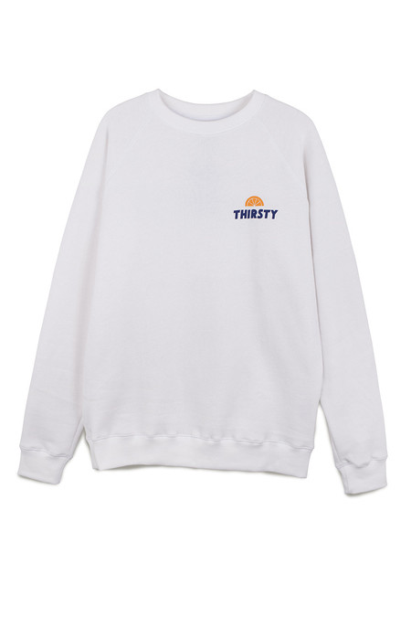 Pleasant Thirsty Sweat in Off-White