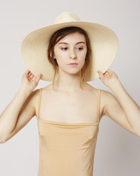 Brookes Boswell Wakefield fedora straw hat